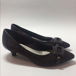 NWOT-Anne Klein Textile Shoes